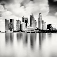 Singapore Skyline by xMEGALOPOLISx