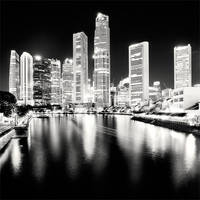 Singapore - Blacks and Whites by xMEGALOPOLISx
