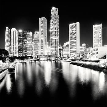 Singapore - Blacks and Whites by xMEGALOPOLISx