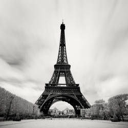Paris - Eiffel Tower IR by xMEGALOPOLISx