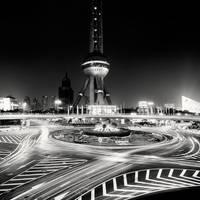 Shanghai Oriental Pearl Tower by xMEGALOPOLISx