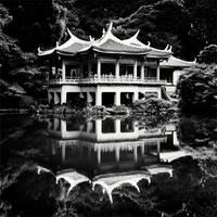 Tokyo - Shinjuku Gyoen Garden by xMEGALOPOLISx