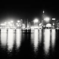 Hong Kong Lights by xMEGALOPOLISx