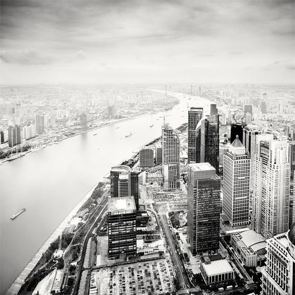 Shanghai China Huangpu River by xMEGALOPOLISx