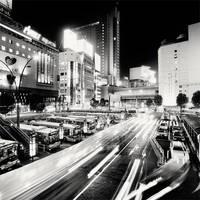 Tokyo - Shinjuku Bus Station by xMEGALOPOLISx