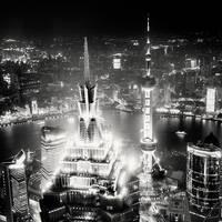 Jin Mao Shanghai by xMEGALOPOLISx