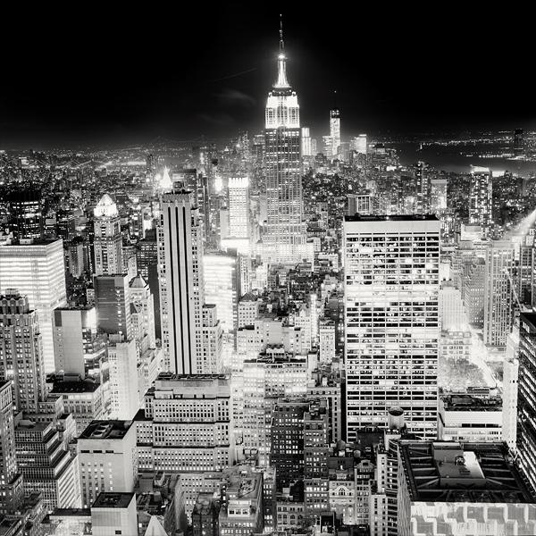 New York Skyline by xMEGALOPOLISx