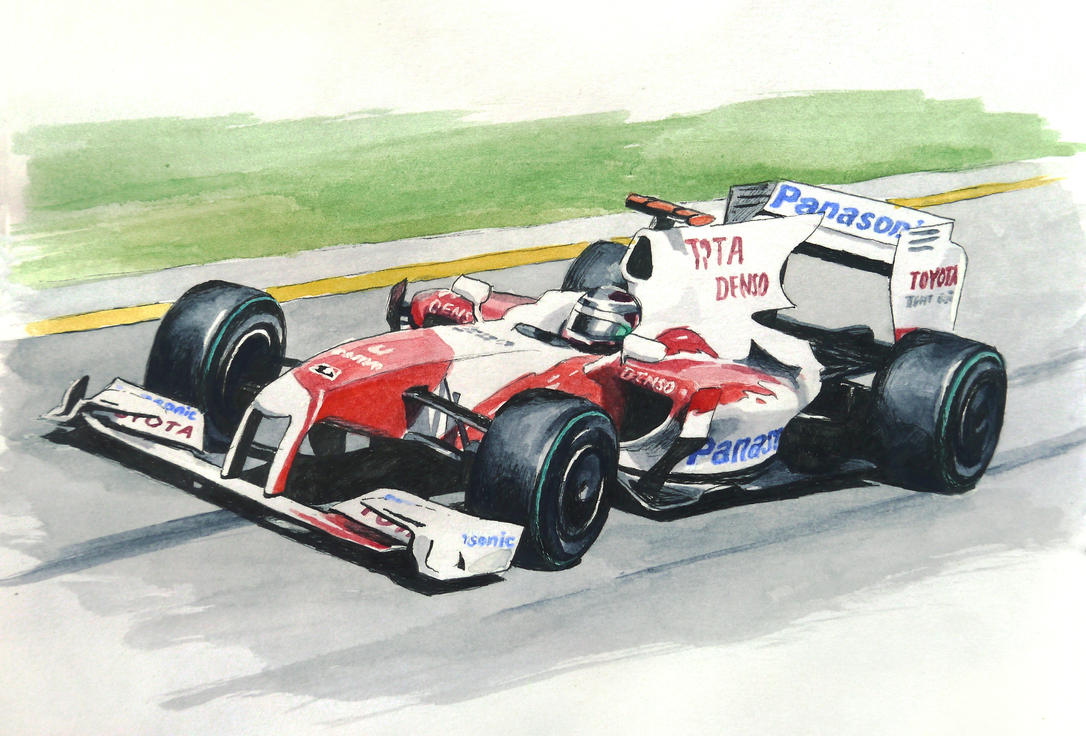 Toyota TF109 by CaptainJoellie