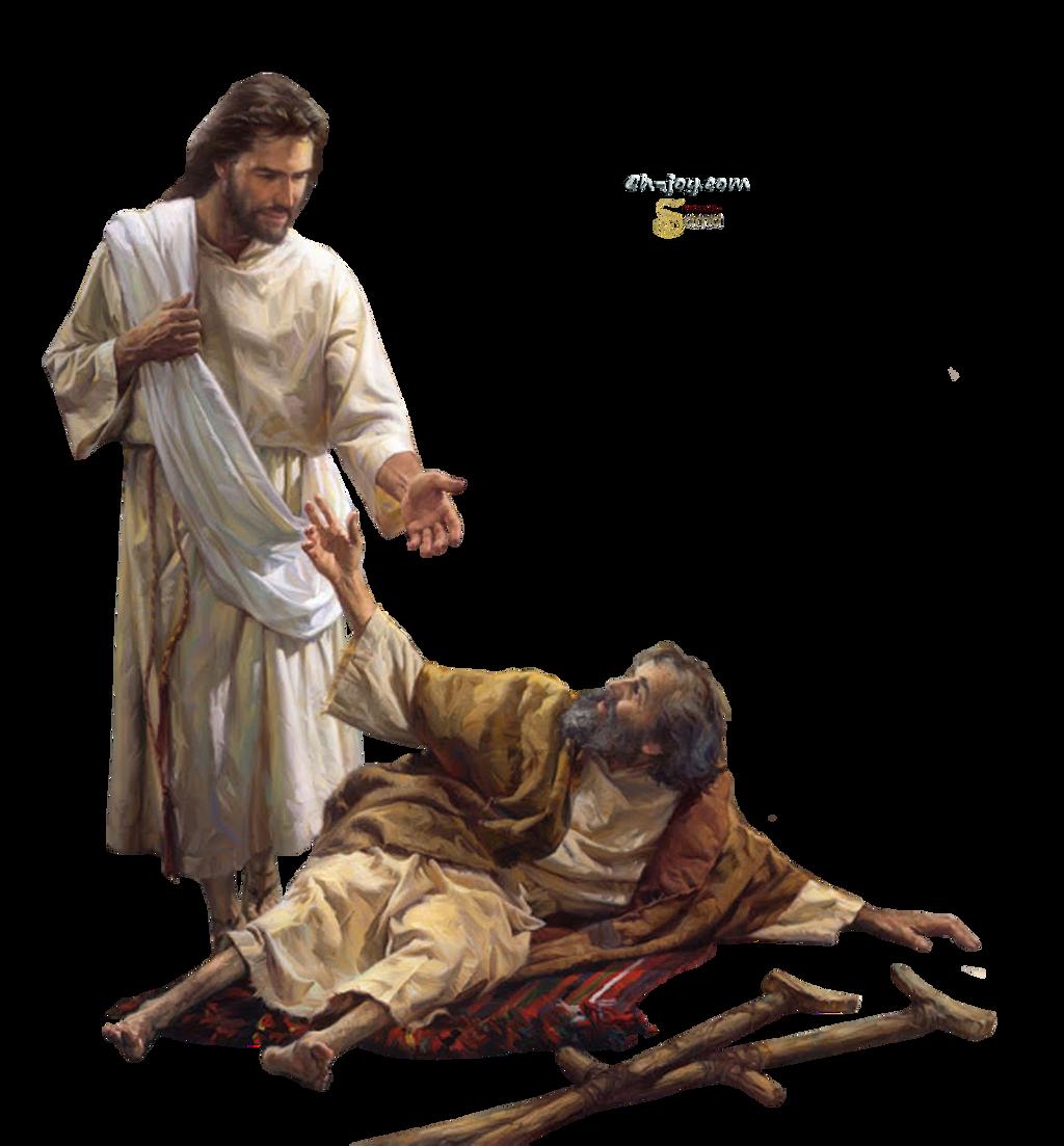 Jesus Heals a Paralyzed Man - by sama by samasmsma on DeviantArt