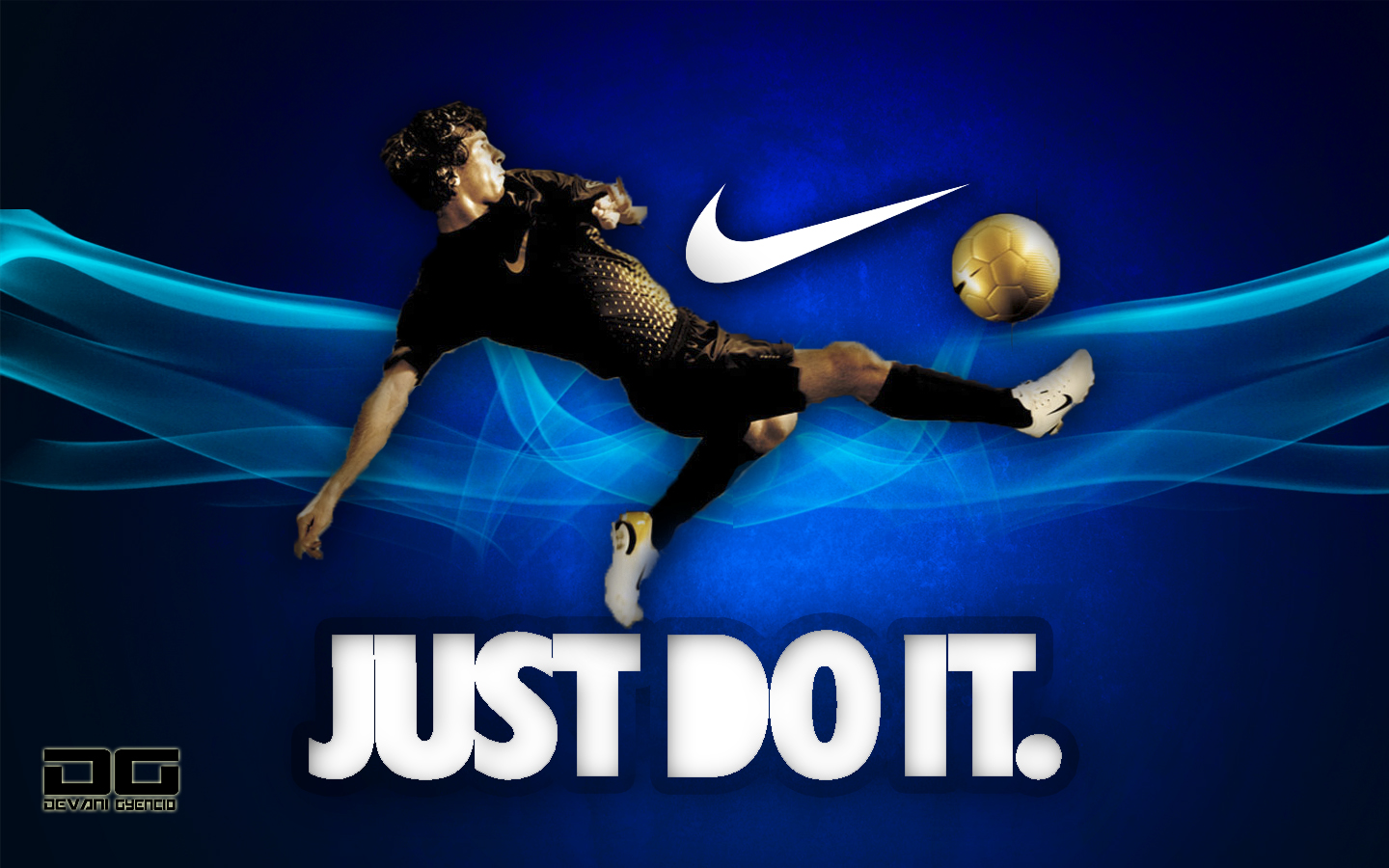 Nike Just Do It Football Nike wallpaper Nike Just Do It Football