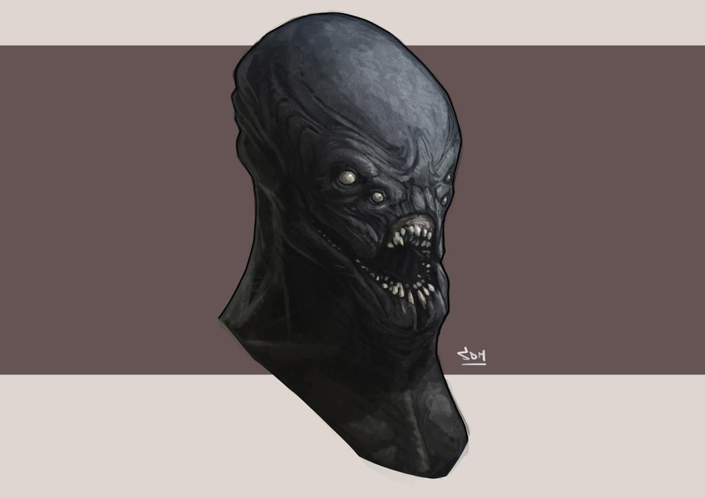 Alien Head Concept by SpikeSDM