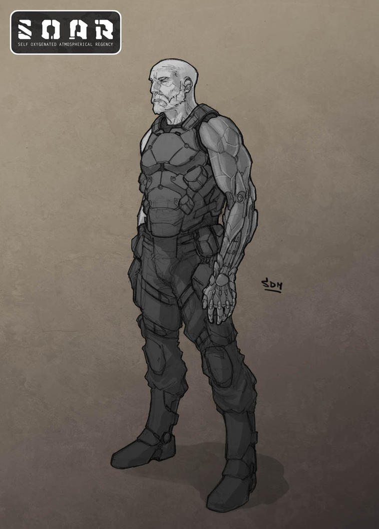 SOAR - Lt Noah Winter by SpikeSDM
