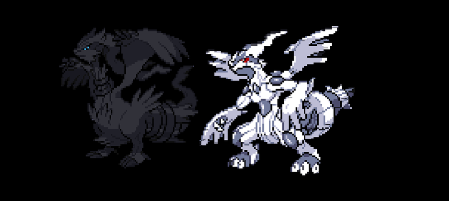 Reshiram Zekrom Color Swap By 123vilocirapter