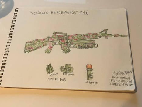 M16 Scarface the Predator