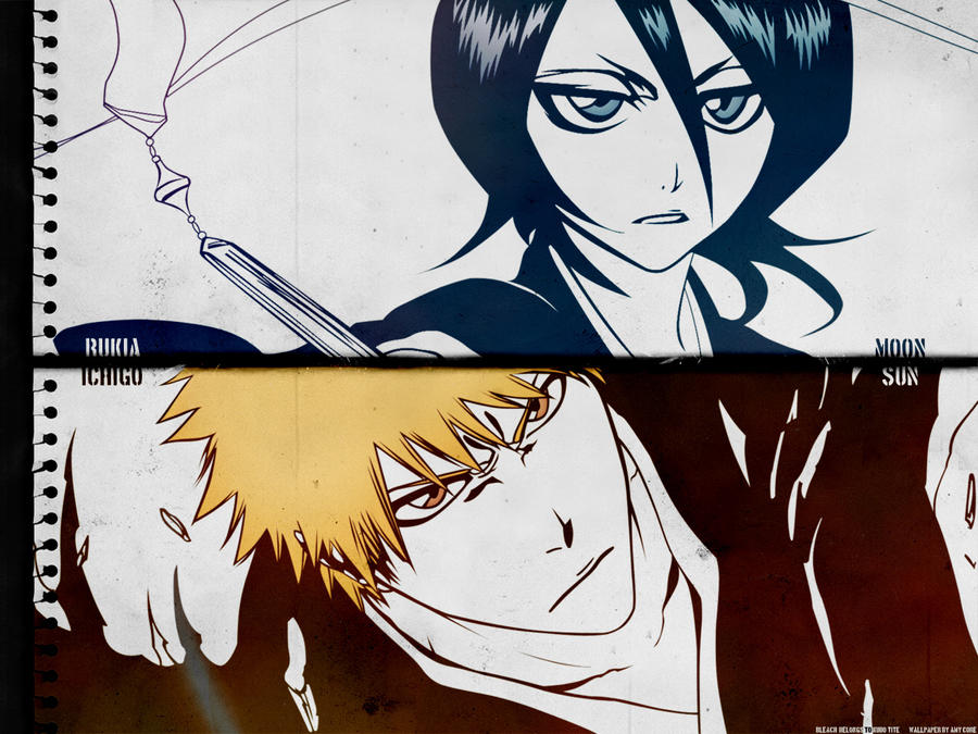 Sun And Moon Ichigo Rukia By KriticalPhenomenon