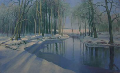 Bright Winter Morning by kahuella