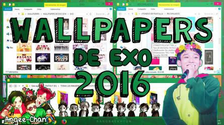 WALLPAPERS DE EXO 2016+FONDOS DE PANTALLA by ANGEE-CHANN