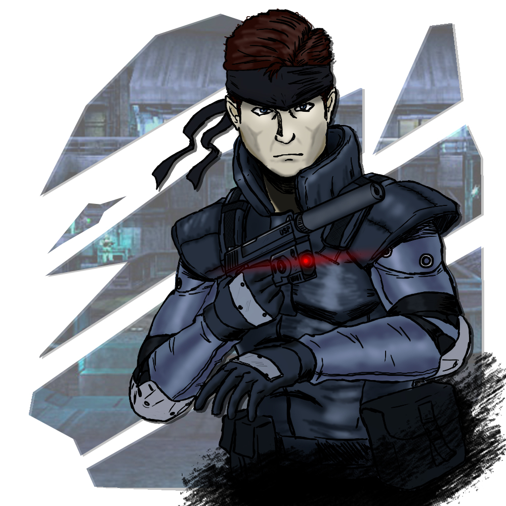 Solid Snake Mgs1 By Hvn73r On Deviantart
