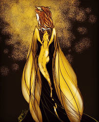 Queen Aelin Ashryver Galathynius by vervaineyes
