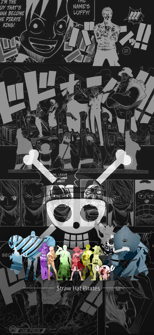 One Piece Iphone Wallpaper Eng Ver By Afifrafiqin On Deviantart