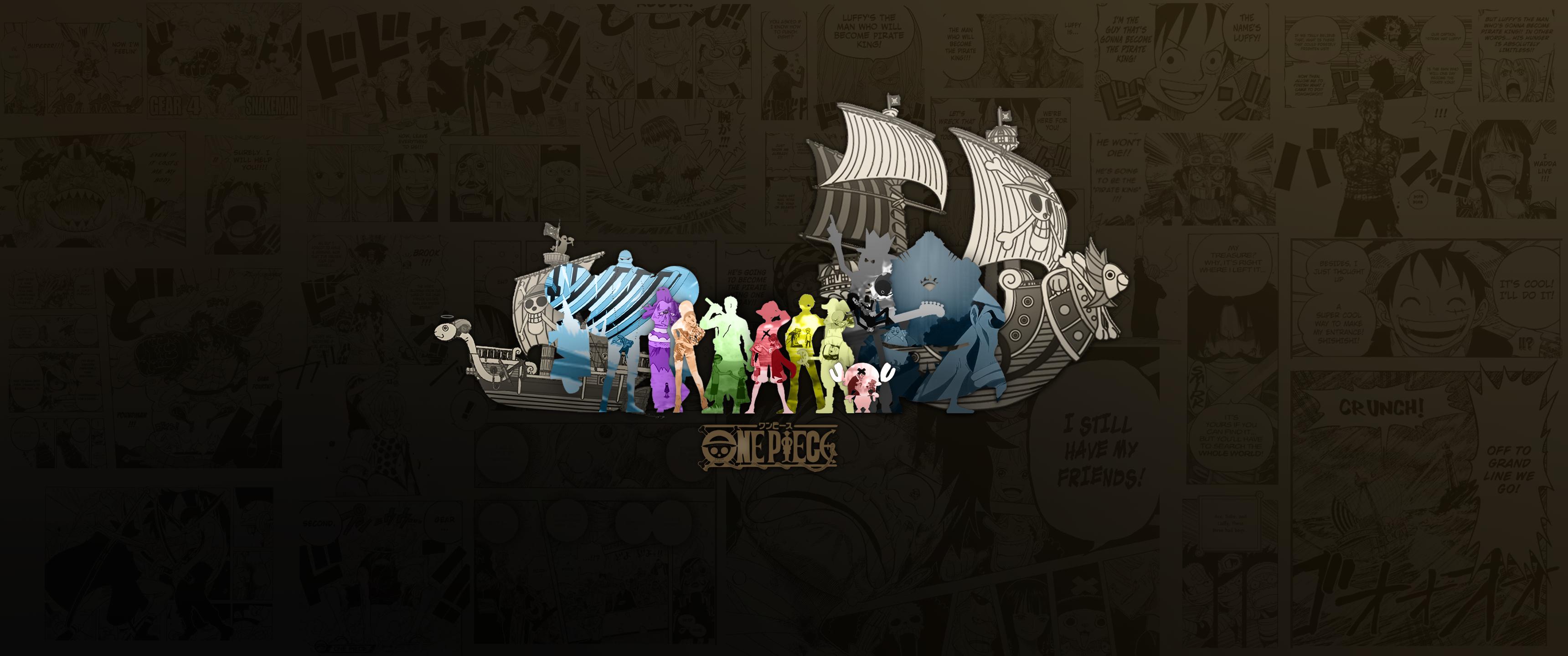 One Piece Ultrawide Wallpaper by