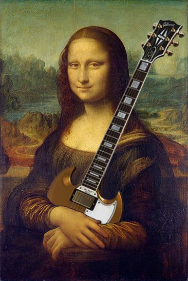 Mona Lisa SG by vincegotera