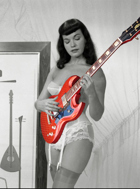 Bettie Page Jedson SG by vincegotera