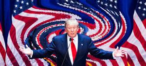 Trump Twirl by vincegotera