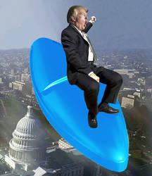 Trump Riding the Viagra Bomb