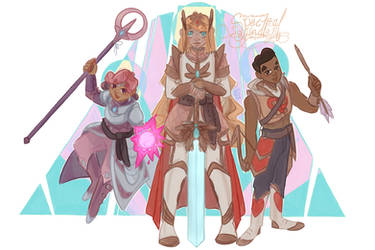 She Ra Group with Armor