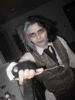 Sweeny Todd- How bout a shave? by jedijorel