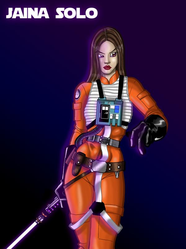 Jedi-Jaina Solo by jedijorel