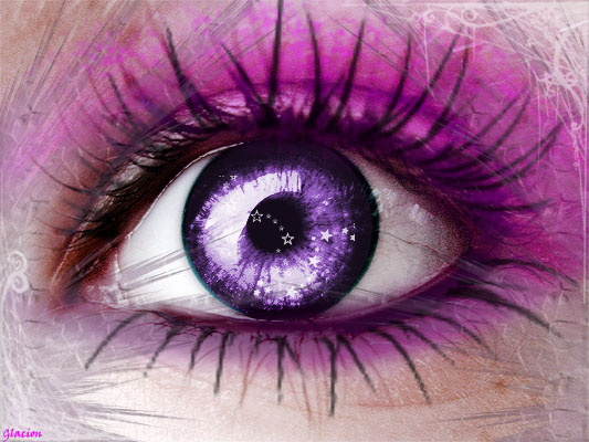 Amethyst Eye by Glacion