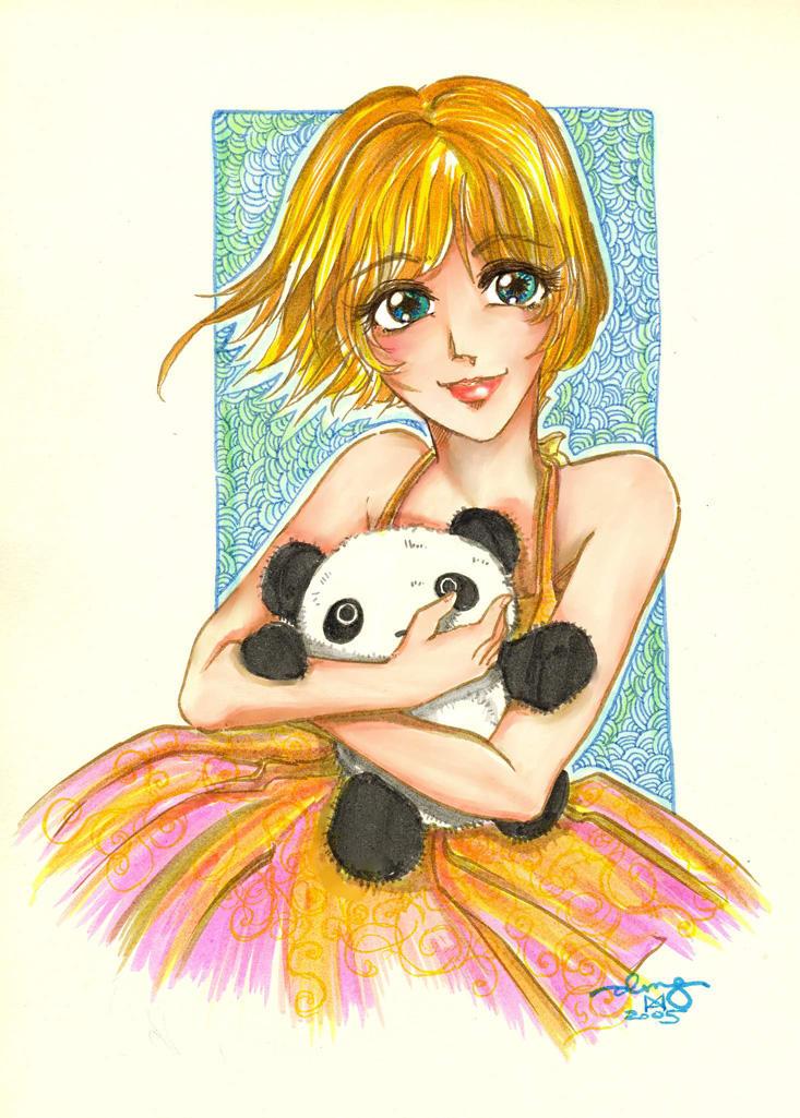 Cutesy Poo Anime Art by erisdoll