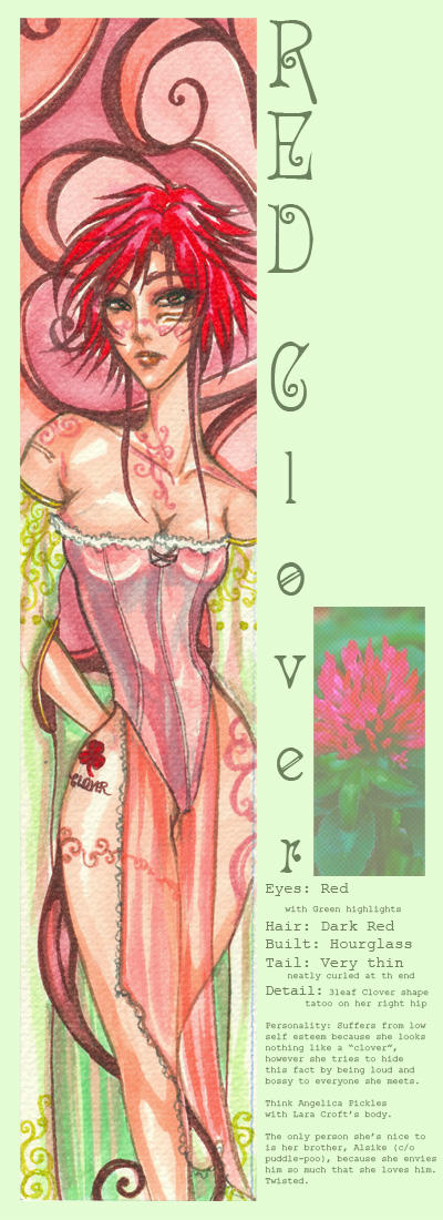 Calanthra: Red Clover 01 by erisdoll