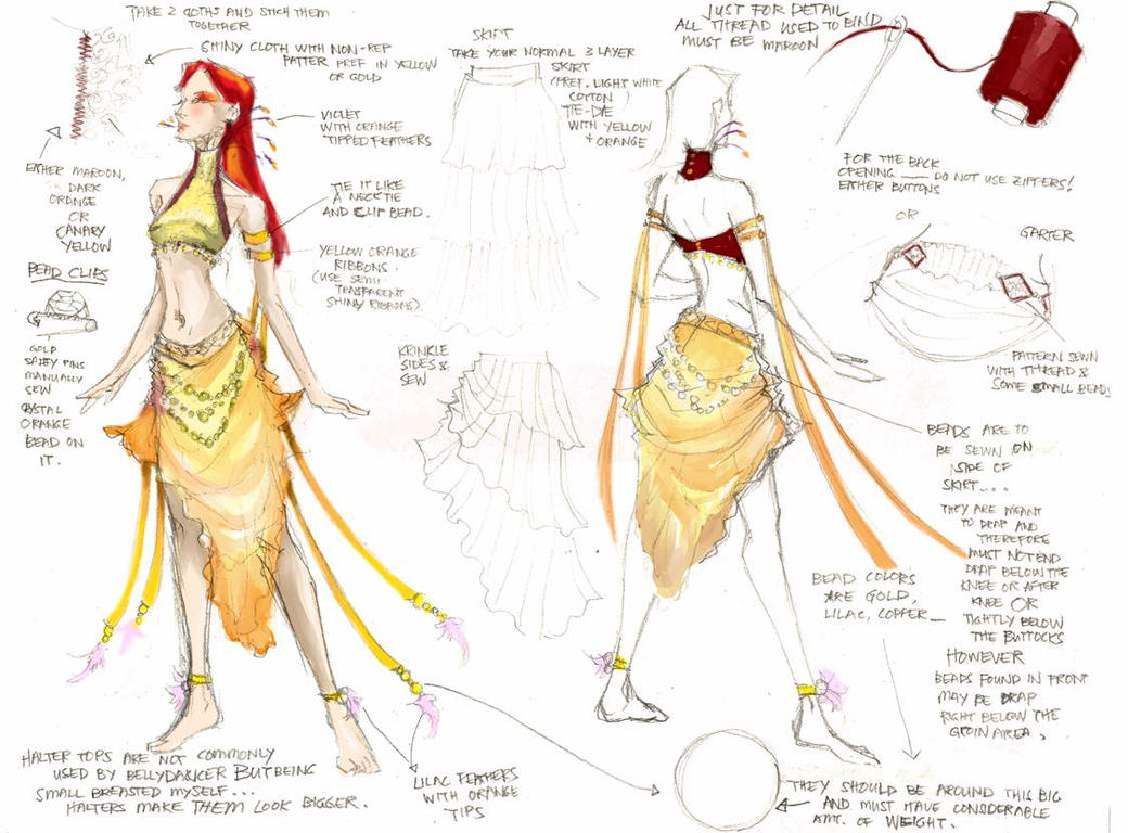 Belly Dancing Design 01 by erisdoll