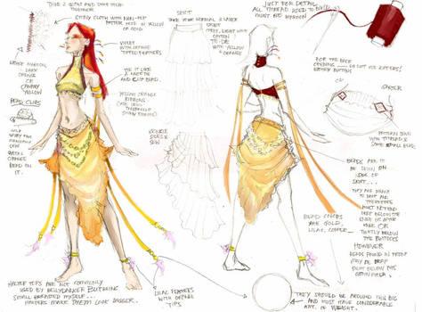 Belly Dancing Design 01
