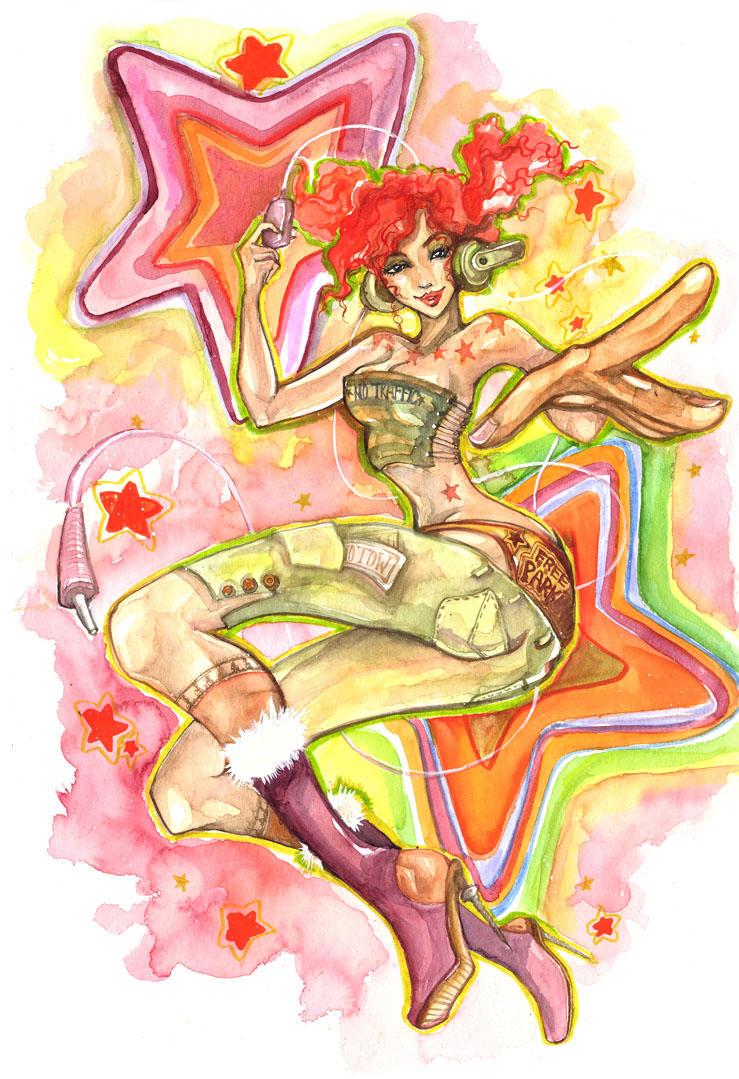 Annie da Present by erisdoll