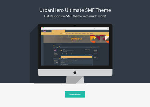 Urban Hero Ultimate SMF Theme! Limited.