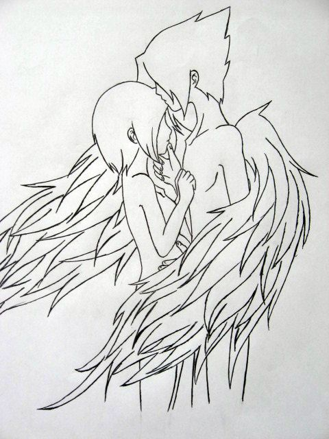 Anime dark angel coloring pages hot girls wallpaper for Dark angel coloring pages