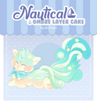 [CLOSED] Guest Soosh - Nautical Ombre Layer Cake