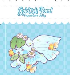 [CLOSED] Soosh - Goldfish Pond Aquarium Jelly by Chital