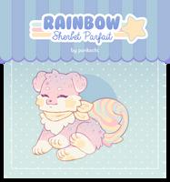[CLOSED] Guest Soosh - Rainbow Sherbet Parfait by Chital
