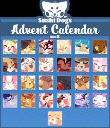 [CLOSED] Sushi Dogs Advent Calendar 2018