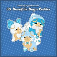 Advent2018 - 05. Snowflake Sugar Cookies by Chital