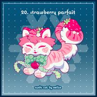Advent2019 - 20. Strawberry Parfait