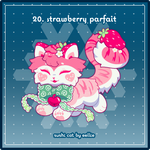 Advent2019 - 20. Strawberry Parfait