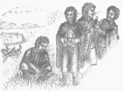 Archive (2000 Tolkien notepaper) - Mallorn Sapling
