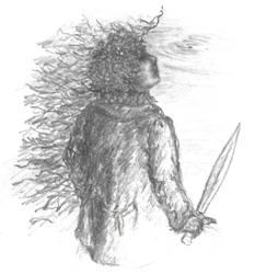 Archive (2000 Tolkien notepaper) - Gollum+Bilbo(B)