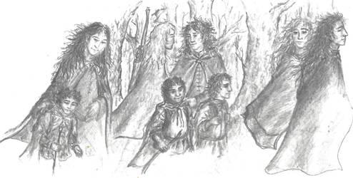 Archive (2000 Tolkien notepaper) - O Fair Folk!